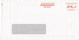 AUSTRALIA - AIR MAIL LETTER POSTAGE PAID /QD11 - Cartas