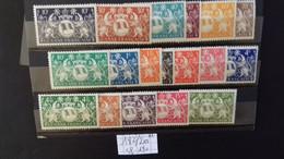 GUYANE 182/200**  (sf 190) - Unused Stamps