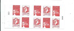 Carnet 1512 Neuf Les Soixante Ans De La Marianne D'Alger - Usage Courant