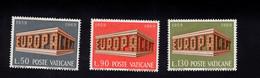 1215695197 1969 SCOTT 470 472   (XX)  POSTFRIS  MINT NEVER HINGED EINWANDFREI  - EUROPA ISSUE - Gebraucht