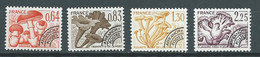 Preoblitéré Série - Yvert N° 158 à 161 ** 4 Valeurs Neuf Sans Charniere) - Pal 5701 - 1964-1988
