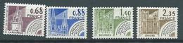 Preoblitéré Série - Yvert N° 162 à 165 ** 4 Valeurs Neuf Sans Charniere) - Pal 5702 - 1964-1988