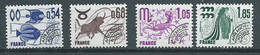 Preoblitéré Série - Yvert N° 146 à 149 ** 4 Valeurs Neuf Sans Charniere) - Pal 5707 - 1964-1988