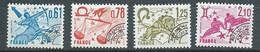 Preoblitéré Série - Yvert N° 154 à 157 ** 4 Valeurs Neuf Sans Charniere) - Pal 5709 - 1964-1988