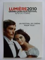 ALAIN DELON - CLAUDIA CARDINALE / CINEMA - FILM - Carte Publicitaire Festival Lumière 2010 - Actores