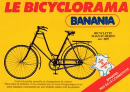"TOUR DE FRANCE 1982 "" BANANIA / LE BICYCLORAMA ""  CPM 10X15  NEUVE - Ciclismo"