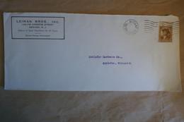 L20 ETATS  UNIS BELLE LETTRE 1929 NEWARK POUR APPLETON  +AFFRANCH INTERESSANT - Briefe U. Dokumente