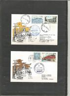 BRUXELLES-LA HAVANE - Sabena 18/23-5-1976 - Timbres Belgique (Gemmenich+aérogramme) + Cuba (locomotive, José Marti) - Airplanes