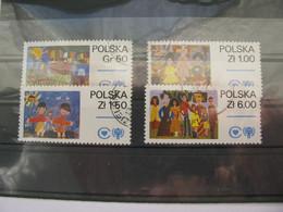 Polen  2603 - 2606  O - Usati