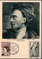 FRCM 1962 Edmé Bouchardon  N°YT 1346 - 1960-69