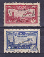 TIMBRE FRANCE PA N° 5/6 OBLITERE - 1927-1959 Afgestempeld