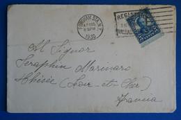 L20 ETATS UNIS BELLE LETTRE 1930 FORDHAM POUR THESEE FRANCE + AFFRANCH. PLAISANT - Briefe U. Dokumente