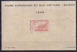 INDOCHINE - Bloc Pour La Foire Exposition De Saïgon De 1948 - Sonstige