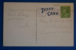 L20 ETATS UNIS BELLE CARTE 1930  POUR DAVENTPORT + AFFRANCH. INTERESSANT - Briefe U. Dokumente