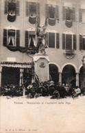 VARESE - MONUMENTO AI CACCIATORI DELLE ALPI - VIAGGIATA - Varese