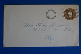 L20 ETATS UNIS BELLE LETTRE 1900 SEATTLE POUR NEW YORK+ AFFRANCH. PLAISANT - Briefe U. Dokumente