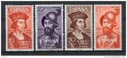 Sahara 1961. Edifil 197-200 ** MNH. - Sahara Espagnol
