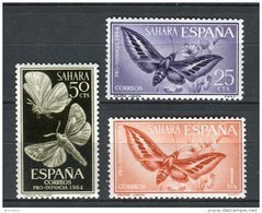 Sahara 1964. Edifil 225-27 ** MNH. - Sahara Espagnol