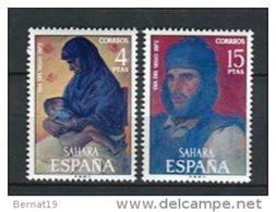 Sahara 1972. Edifil 308-09 ** MNH. - Sahara Espagnol