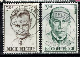 Belgium 1971 Mi: 1655 1656 USED - Oblitérés