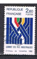 Sommet Des Pays Industrialisés, N°2214 - Oblitérés