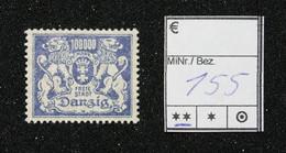Nr. 155 Danzig Postfrisch - Dantzig