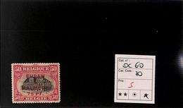 D - [816149]TB//*/Mh-c:20e-Belgique  - OC 60 - [OC55/105] Eupen/Malmedy