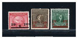 BELGIO - BELGIE BELGIQUE  - GIOCHI OLIMPICI ANVERSA 1920 -  Lusso - Verano 1920: Amberes (Anvers)