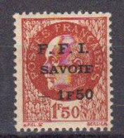 France Liberation FFI Savoie Yvert 1 ** Neuf Sans Charniere - Liberation