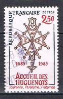 Tricentenaire De La Révocation De L'Edit De Nantes N°2380 - Oblitérés