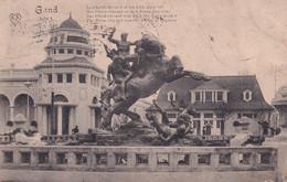 Gand Exposition 1913 Le Cheval Bayard Et Les 4 Fils Haymond - Gent