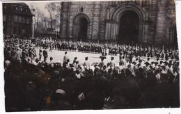 ALLEMAGNE SPIRE MARS 1946 DISCOURS DU MARECHAL DELATTRE DE TASSIGNY - War, Military