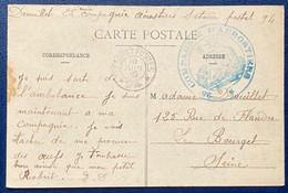 Carte Trésor & Postes Secteur Postal 94 + Cachet 25e Compagnie D'aérostiers Superbe - Andere