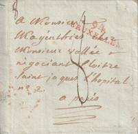 Département Conquis Marque Postale Sans Correspondance 94/BRUXELLES - 1792-1815: Veroverde Departementen