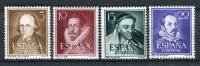 España 1950-53. Edifil 1071-74 ** MNH. - 1931-50 Neufs