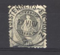 0ch  0298  -  Suisse  :  Mi  77 A   (o)   L,  Dentelé 11 3/4   ,  Obl. VUISTERNEN EN OGOZ - Gebruikt