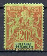 ColTGC  Sultanat D'Anjouan N° 7 Faux Fournier Neuf XX MNH Cote >>>>€ - Neufs