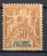 ColTGC  Sultanat D'Anjouan N° 9 Faux Fournier Neuf XX MNH Cote >>>>€ - Neufs