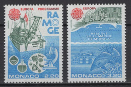 Monaco 1986: Y&T N° 1520/21  ** MNH. TTB - Unused Stamps