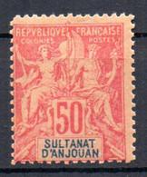 ColTGC  Sultanat D'Anjouan N° 11 Faux Fournier Neuf XX MNH Cote >>>>€ - Neufs