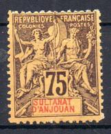 ColTGC  Sultanat D'Anjouan N° 12 Faux Fournier Neuf XX MNH Cote >>>>€ - Neufs
