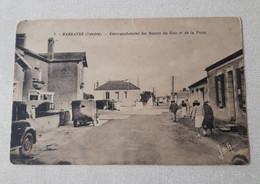 CPA N 7 BARBARTRE   EMBRANCHEMENT DES ROUTES DU  GOIS ET DE LA FOSSE - Noirmoutier