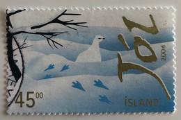 Islande 45 Couronnes Oblitéré 2004 - Gebraucht