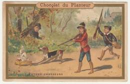 CHROMO CHOCOLAT DU PLANTEUR   FUTURE CHASSEURS - Andere
