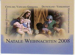 """2008 - VATICANO -  LIBRETTO """" N A T A L E """" NUOVO VEDI++++ - Markenheftchen"""