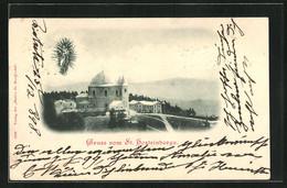 AK Hostyn, Blick Zur Wallfahrtskirche - Tschechische Republik