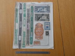 CANADA Tobacco Revenue Stamp Lot  FISCAUX Voir Scan - Revenues
