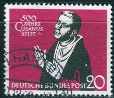 BRD - Mi 301 ⨀ (C) - 20Pf               500 Jahre Cusanusstift - Oblitérés