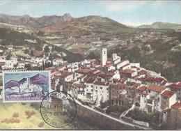 Carte Maximum Premier Jour Saint Paul (Alpes Maritimes) 1961 Carte édition Combier - 1960-69