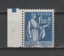 FRANCE / 1932 / Y&T N° 288 ** : Paix 1F50 X 1 BdF G - Neufs
